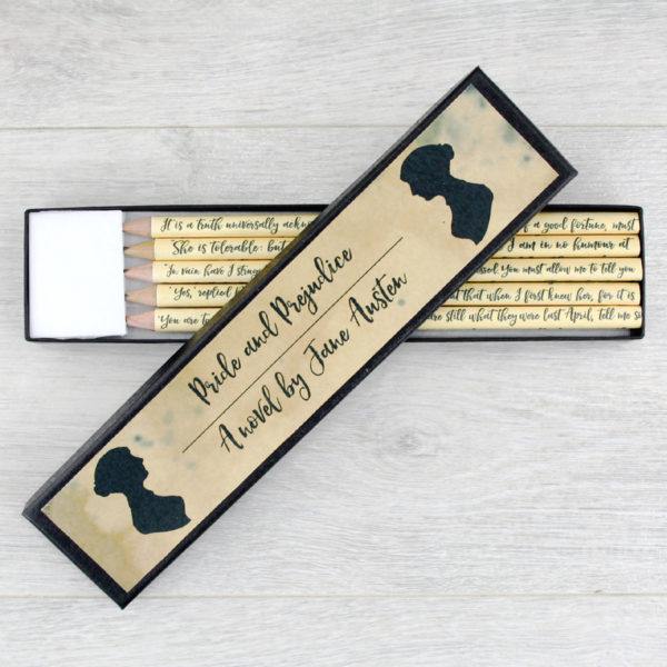 jane austen book lover gifts for literary fans by six0six design