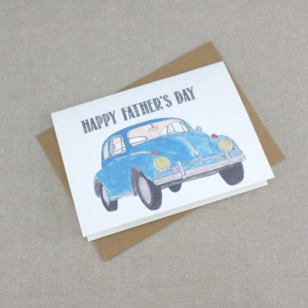 happy fathers day card gift for dad