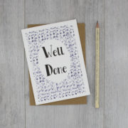 well done card congratulations card by six0six design