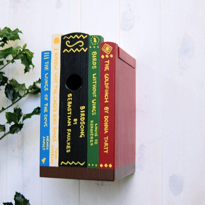 books lover birdbox by LindleyWood quirky gifts