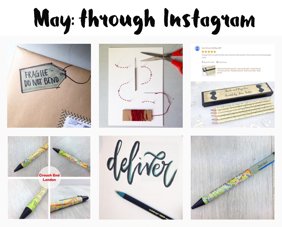 may through instagram a monthly round up from six0six design
