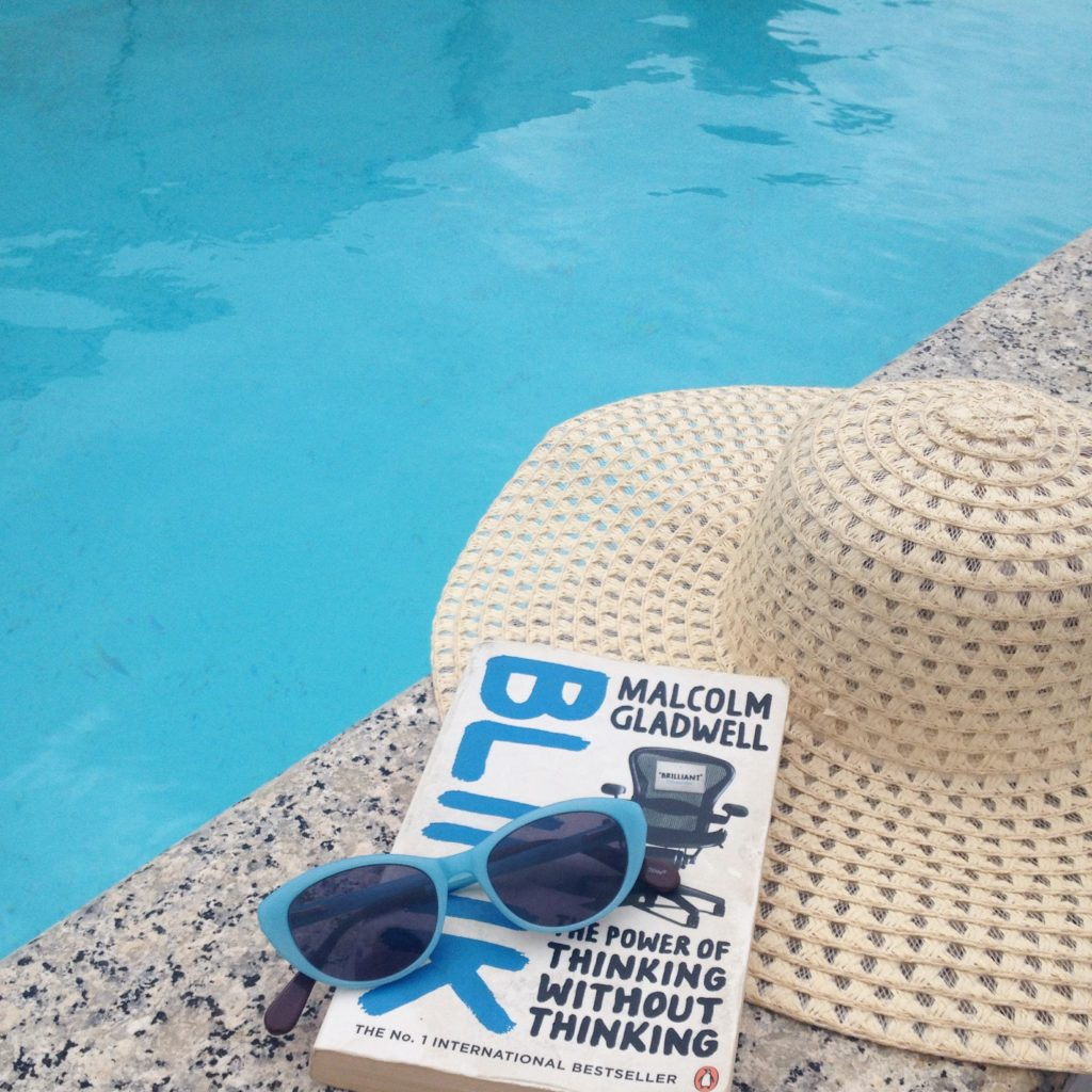 summer holiday reads blink by malcolm gladwell