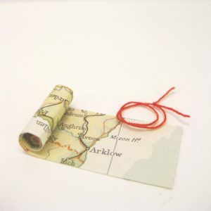 map scroll a gift to commemorate your special location