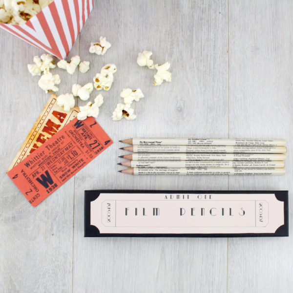 gifts for movie fans film pencils