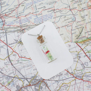 custom map pendant gifts for travellers
