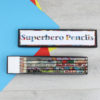 superhero themed gift wrapping and gift tags