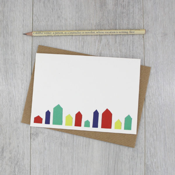 new home card handmade by six0six design 1