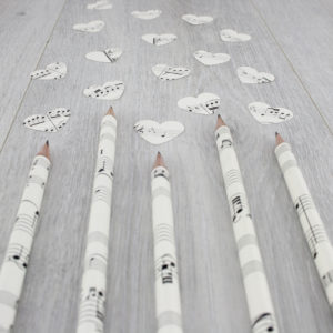 handmade music pencils thank you gifts for teachers by six0six design