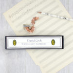 personalised music pencil sets great gifts for music teachers by six0six design
