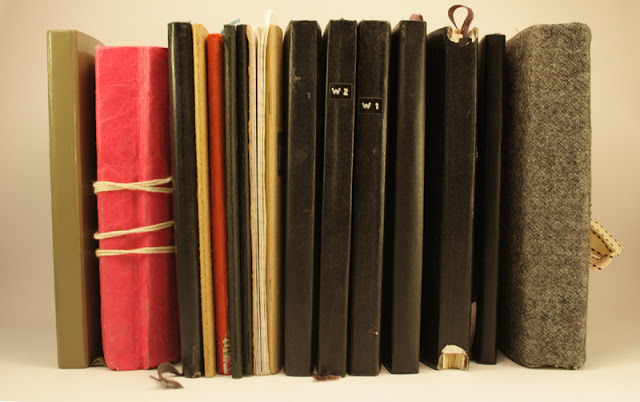 my collection of notebooks six0sixdesign