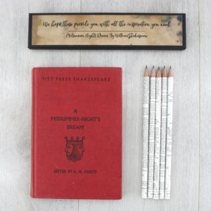 personalised Shakespeare gifts