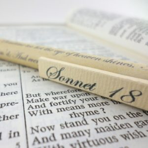 shakespeare sonnet gifts personalised pens by six0six design