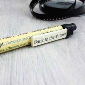 gifts for him film pen with personalised movie review