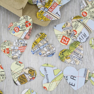 london map confetti table decorations for partieslondon map confetti table decorations for parties