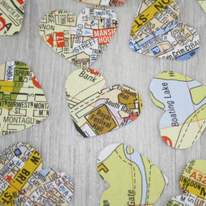london map gifts for wedding parties