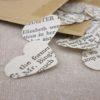 packs of jane austen heart confetti