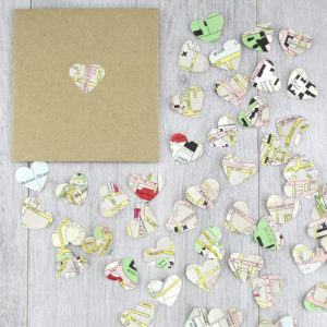 dublin map confetti gifts for geography lovers
