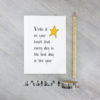 best day inspirational quote card