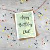 happy birthday day personalised birthday card made in Ireland