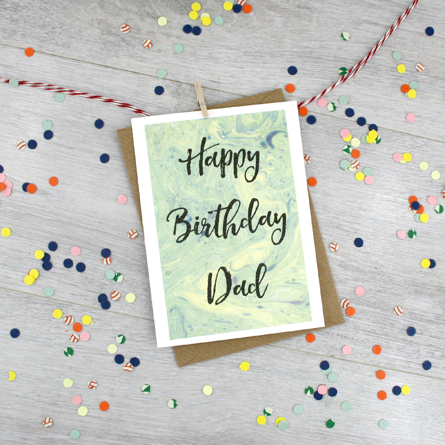 Happy Birthday Day Personalised Card Made In Ireland