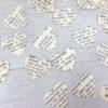 vintage dictionary confetti hearts