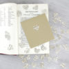 vintage book confetti hearts for your party decorations by six0six design