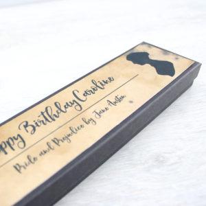custom message jane austen gifts