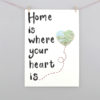 new home family print by six0six design