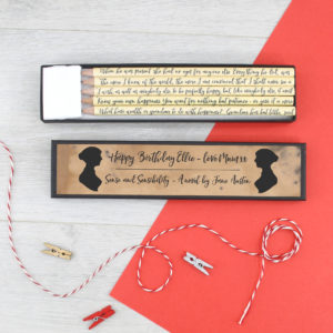 personalised sense and sensibility gifts for your best friend