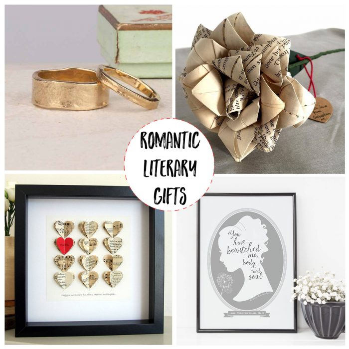 romantic book lover gifts for valentines day