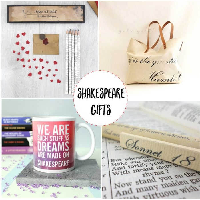 shakespeare gifts for book lovers