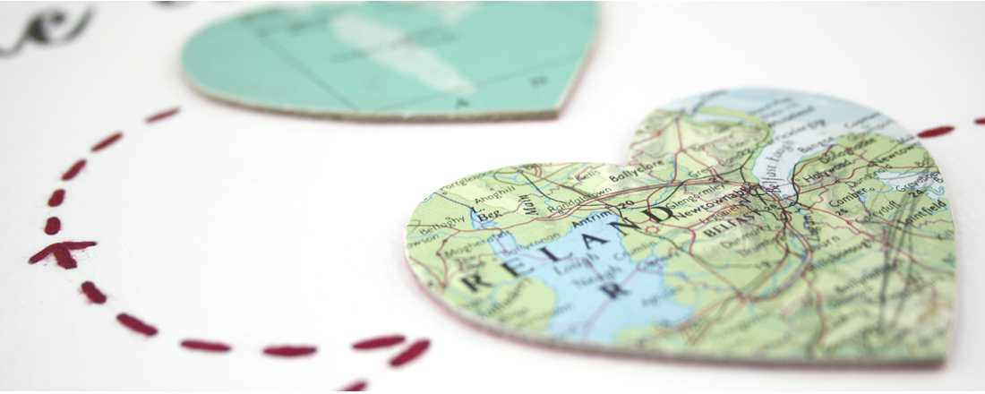 map prints map heart prints location artwork by six0six design