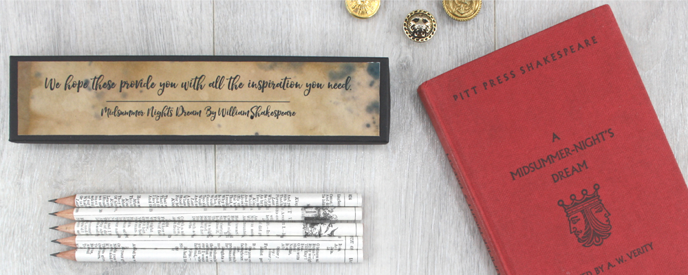 Shakespeare gifts for book lovers Shakespeare stationery gifts for her