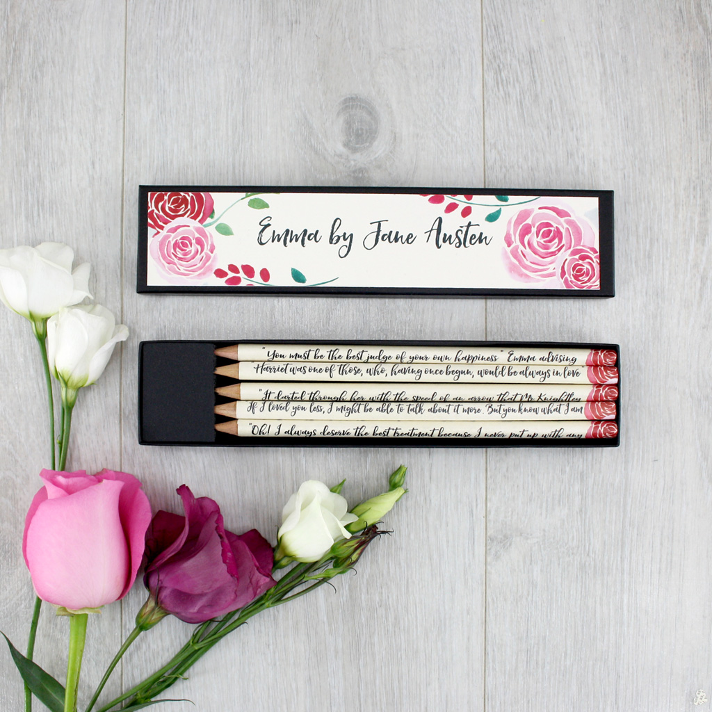 Emma by Jane Austen gifts for mothers day whimsical novels by six0six design