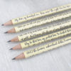 famous irish poems irish interest poetry pencils handmade in ireland by six0six design