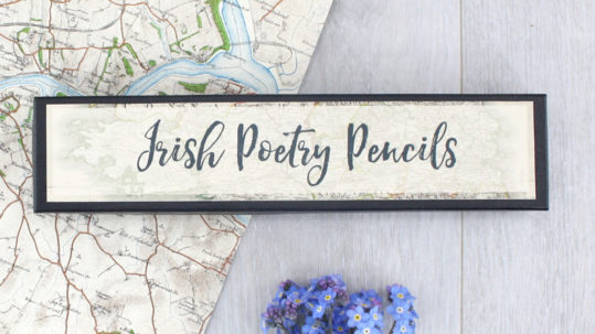 gifts for poetry lovers famous irish poems wb yeats by six0six design