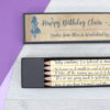 personalised alice in wonderland quote pencils by six0six design
