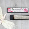 personalised jane austen gifts handmade in ireland Emma quote pencils