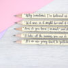through the looking glass gifts for teenagers book quote pencils by six0six design