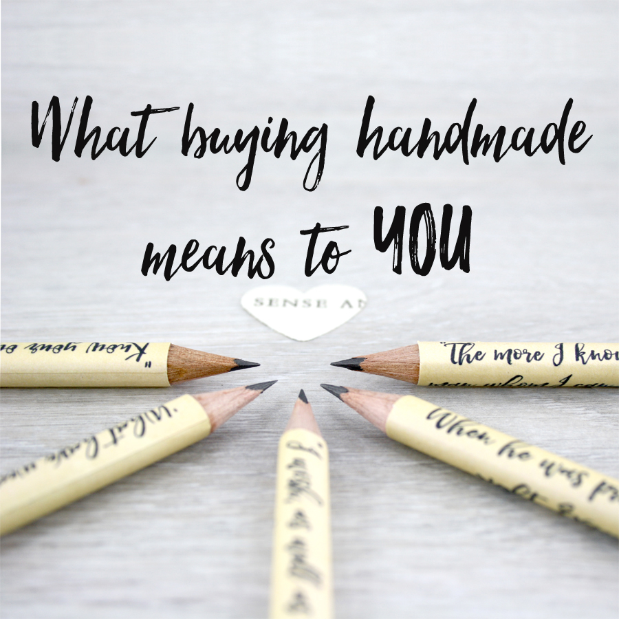 what buying handmade means to you irish design studio six0six design blog