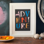 adventure print artwork
