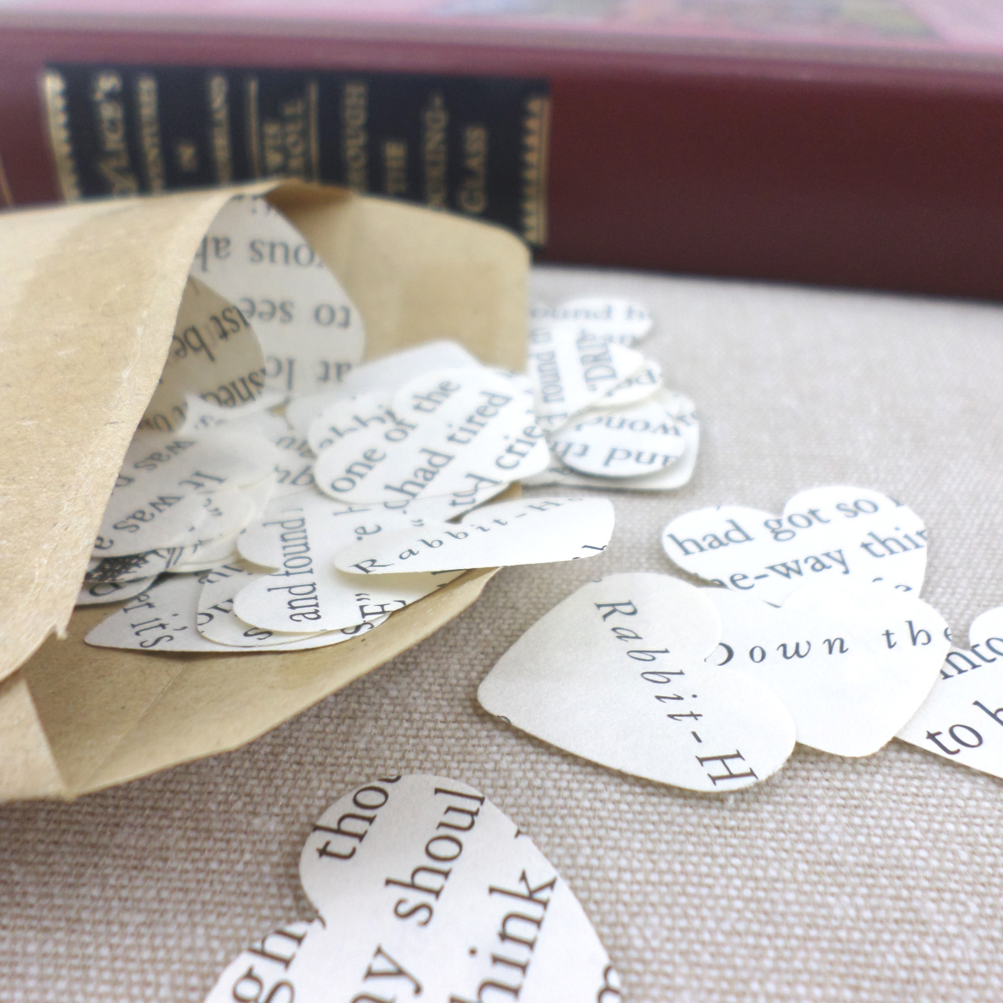 Literary Gifts for bookworms. Book pencils and novel quote cards