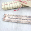 jane austen persuasion quote pencils gifts for book lovers stationery pencils