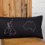 long distance love map gifts for home