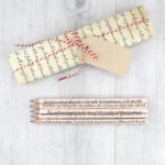 persuasion jane austen quote pencils with matching austen quote wrapping paper