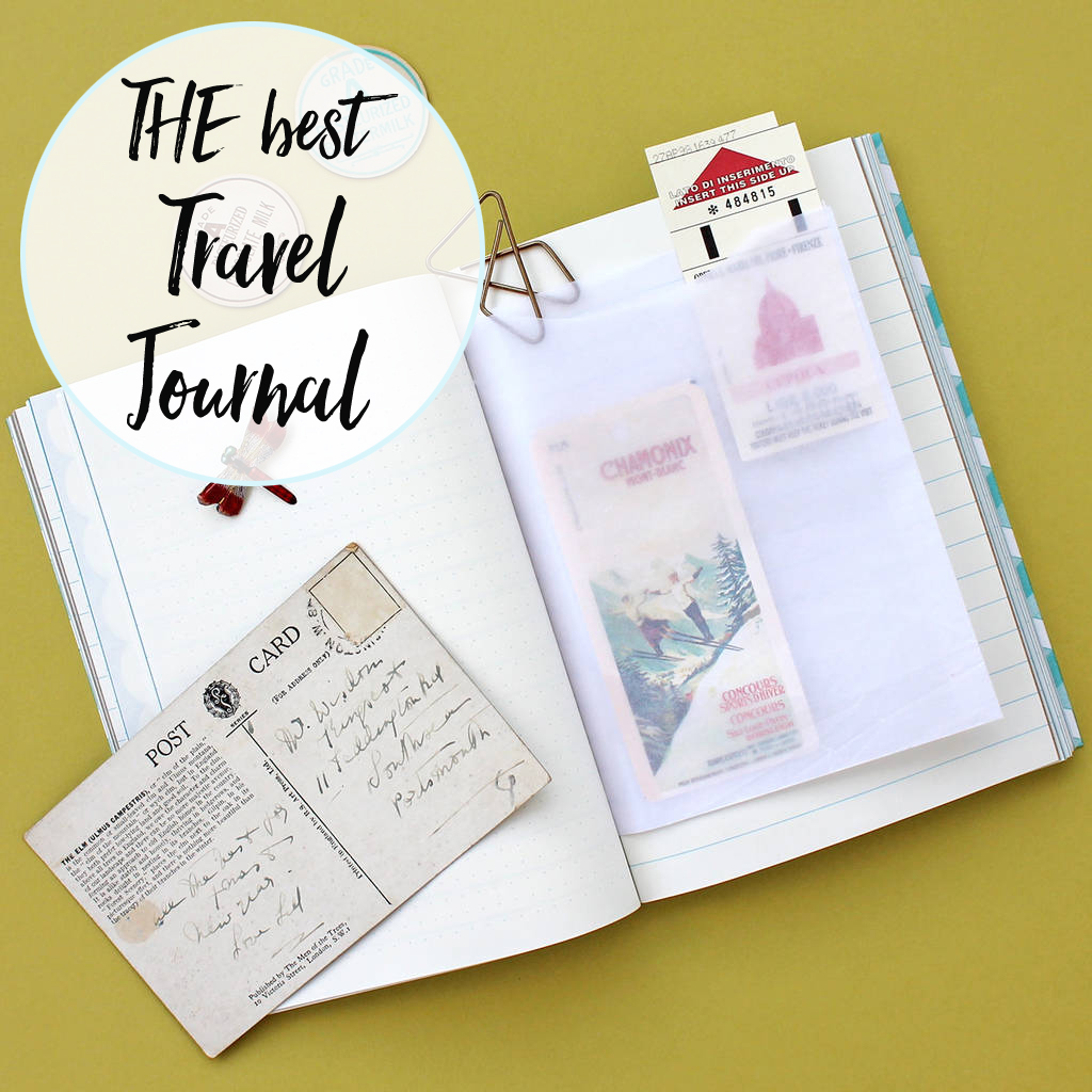 the best travel journal from sukie designs