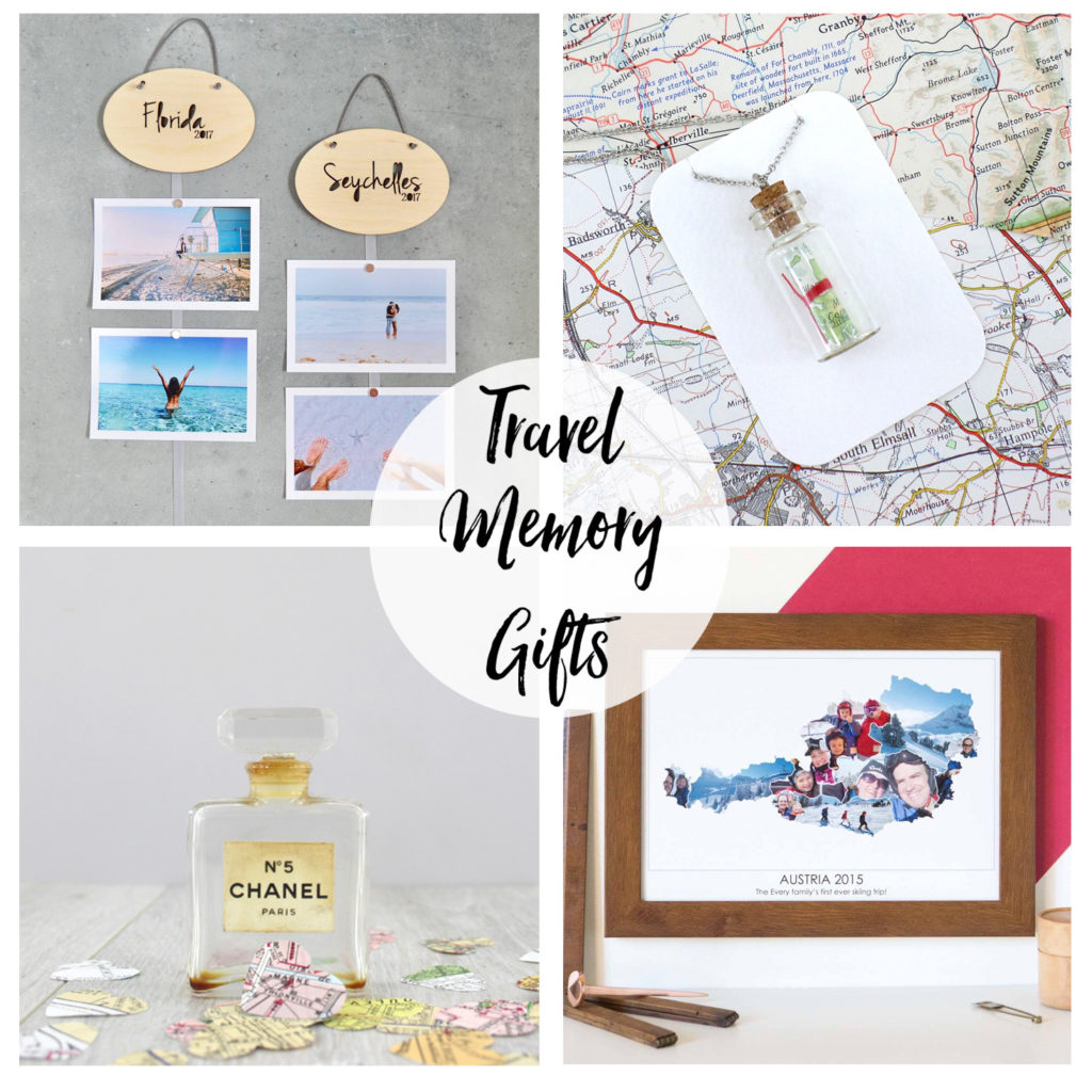 travel memory gifts presents to remember your family holiday adventure