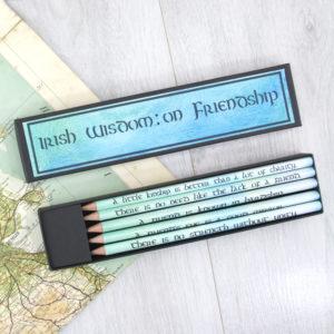 A friend_s eye is a good mirror - irish friendship gifts proverbs 1