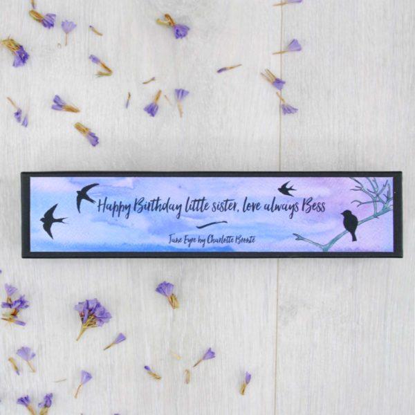 birthday friendship gifts jane eyre stationery personalised