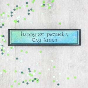 happy st patricks day personalised irish friendship gifts six0six design